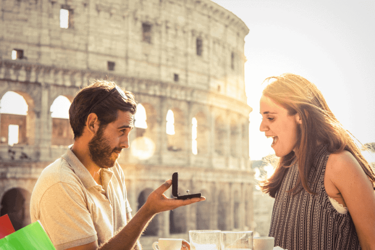 הצעת נישואין רומנטית באיטליה