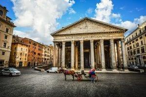 סיור בפנתיאון ברומא