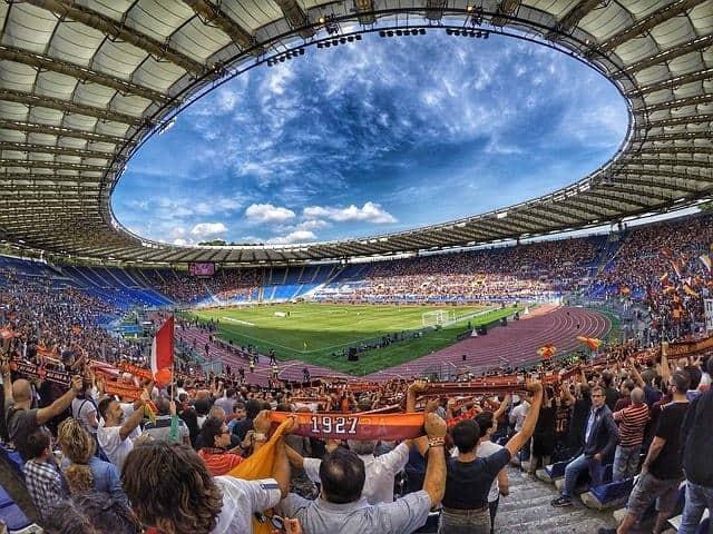 טיול ברומא עם משחק כדורגל