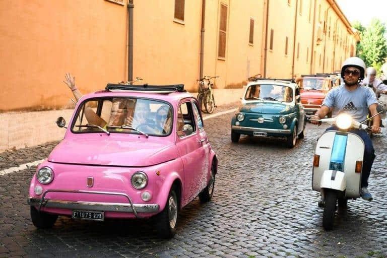 סיור ברכב וינטאג' ברומא