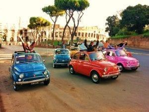 סיור במכונית וינטאג' ברומא