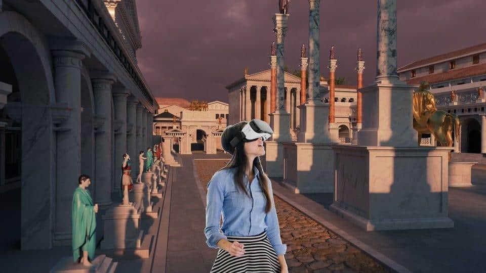 וירטואל ריאליטי VR ברומא