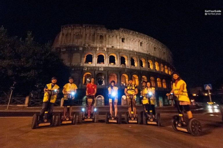 סיור סגווי בלילה ברומא