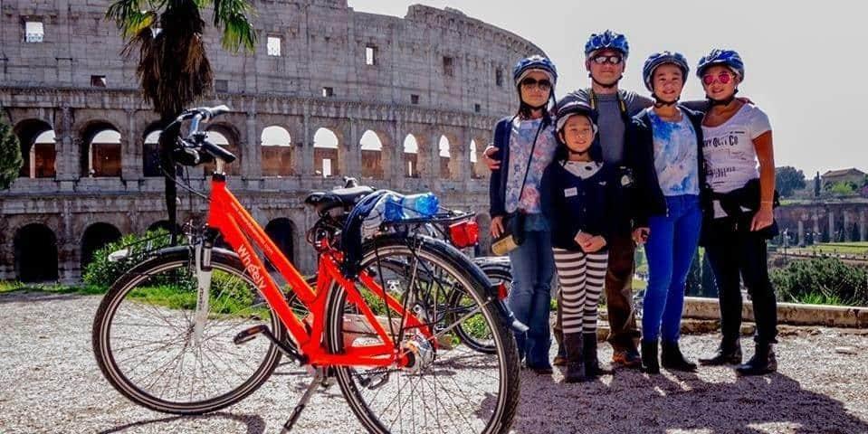 סיור ברומא עם אופניים