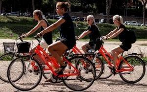 סיור אופניים ברומא