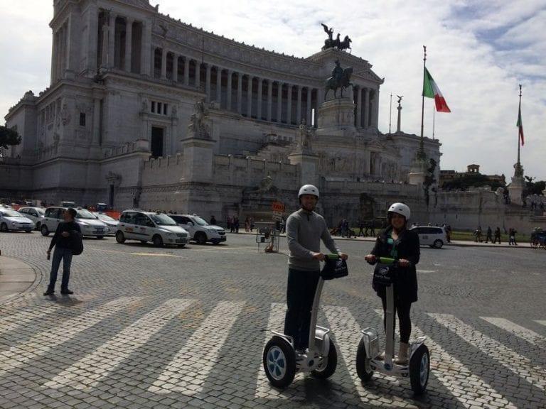 סיור סגווי פרטי ברומא