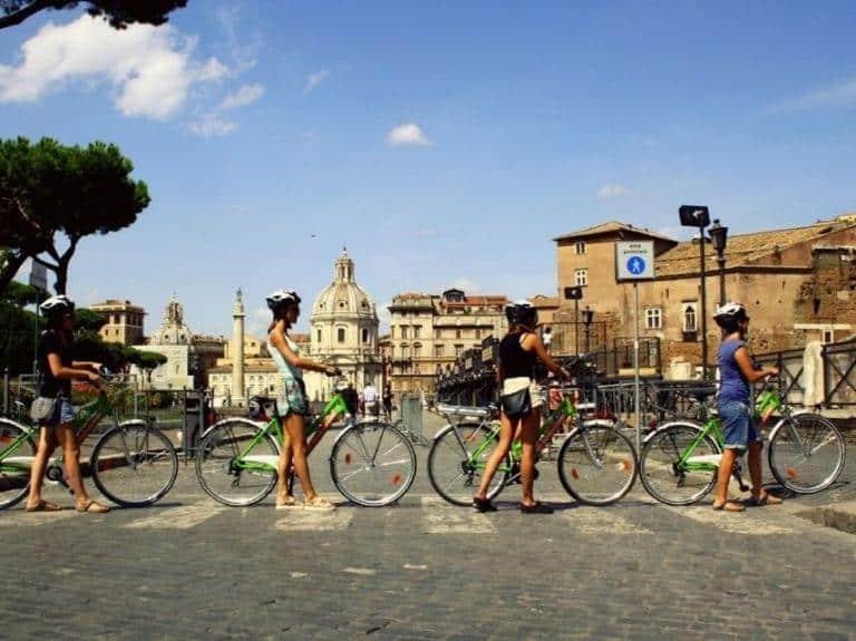 סיור אופניים חשמליים ברומא