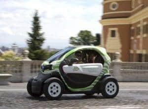 השכרת מכונית חשמלית ברומא