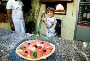 סדנת פיצה פרטית לילדים
