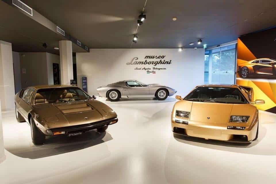 מוזיאון למבורגיני איטליה רומא בולוניה