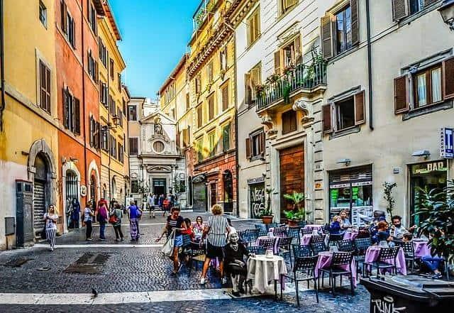 מטיילים ברומא