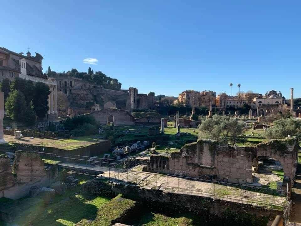 רומא בינואר