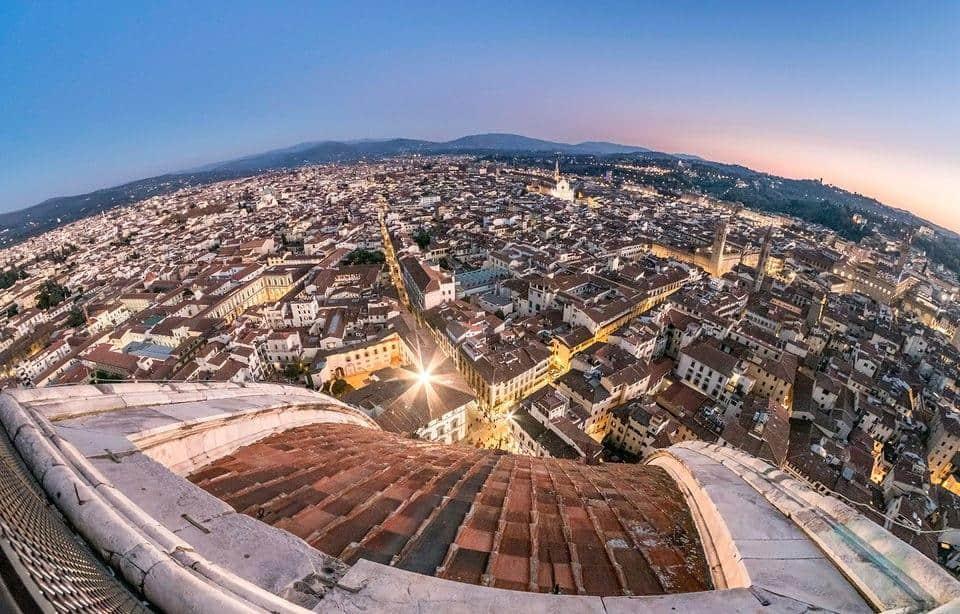להגיע מרומא לפירנצה