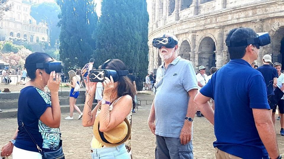 סיור מציאות רבודה בקולוסיאום