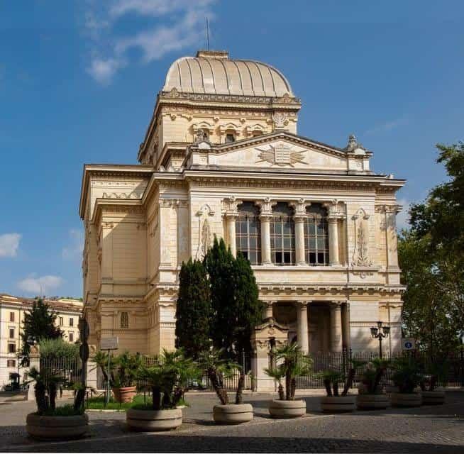 סיור בית הכנסת הגדול ברומא