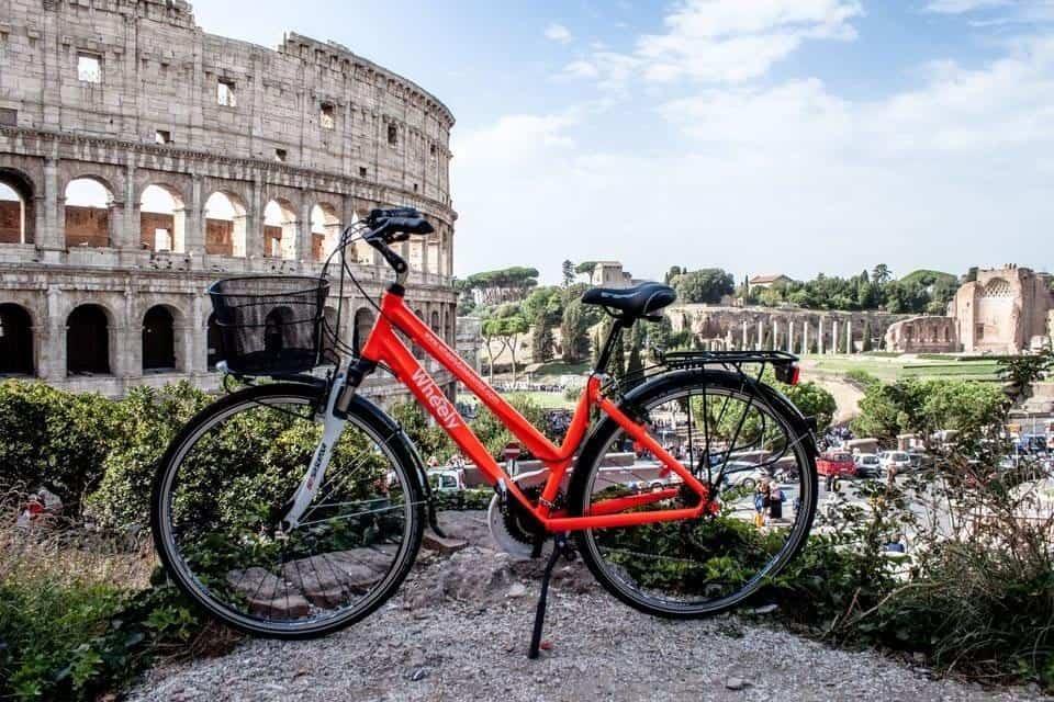 השכרת אופניים ברומא