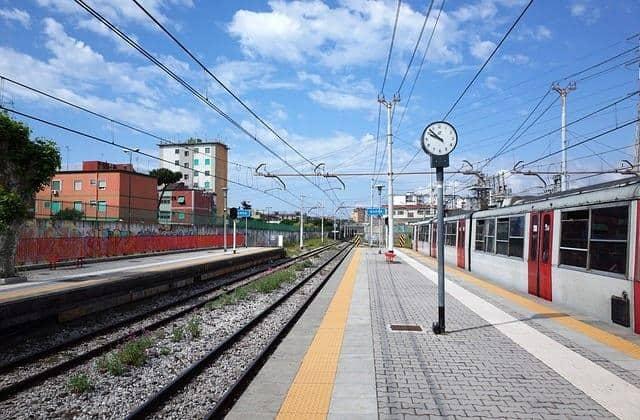 רכבת מרומא לנאפולי