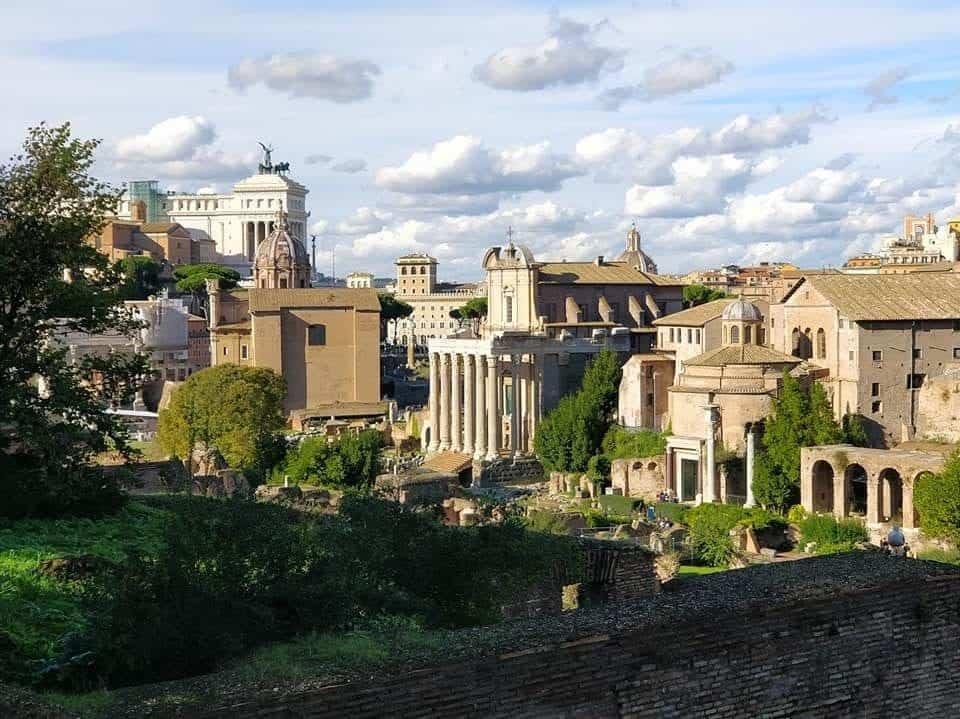 מרחב הקולוסיאום, הפורום ופלטין ברומא
