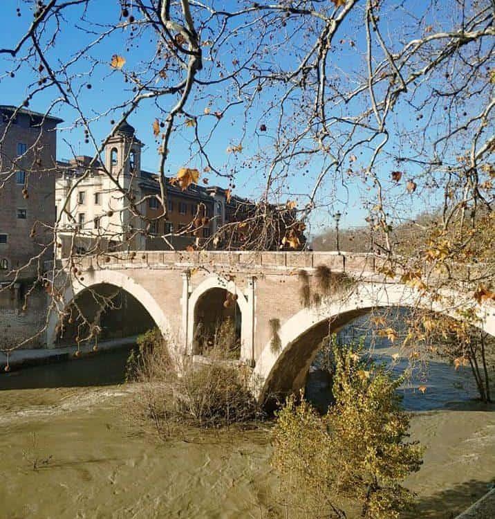 נהר הטיבר ברומא