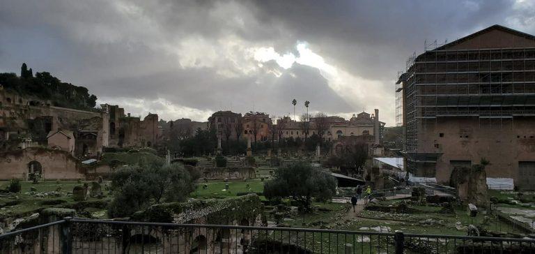 רומא בדצמבר