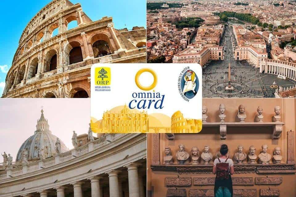 רומא פאס כרטיס אומניה