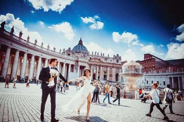 רומא טיול זוגי