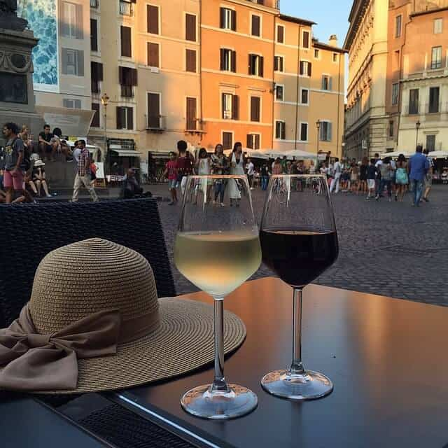 בר יין ברומא